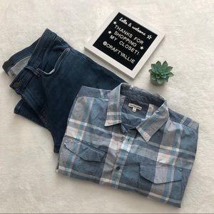 Calvin Klein Jeans Shirts - Calvin Klein Jeans Top — Men's Large